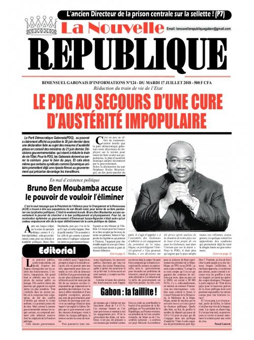 La Nouvelle Republique 21/07/2018