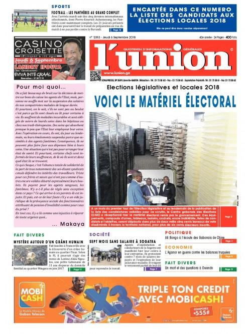 L'Union 06/09/2018
