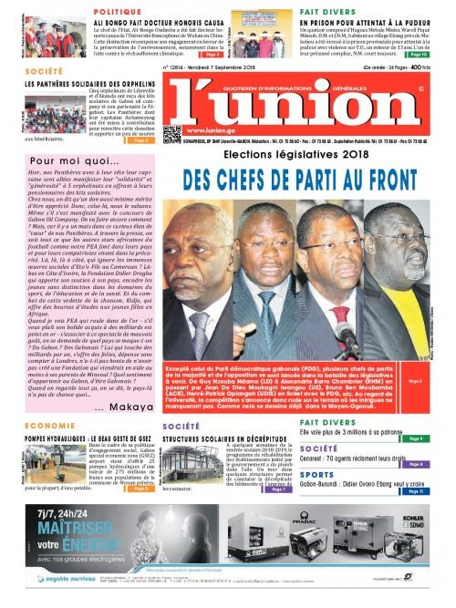 L'Union 07/09/2018