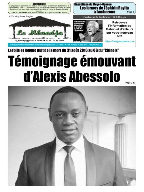 Le Mbandja 07/09/2018