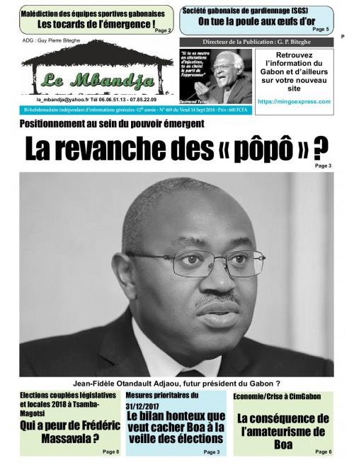 Le Mbandja 14/09/2018