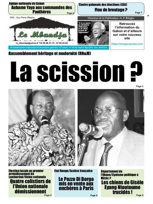 Le Mbandja 21/09/2018
