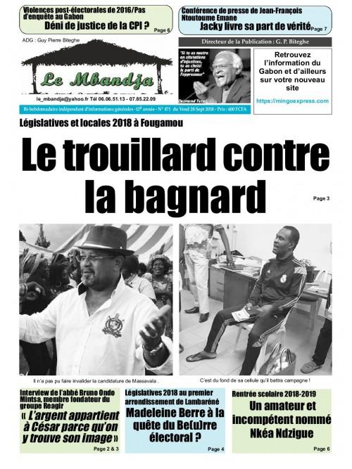 Le Mbandja 28/09/2018