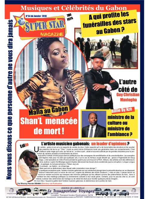 Magazine Super Star 01/01/2018
