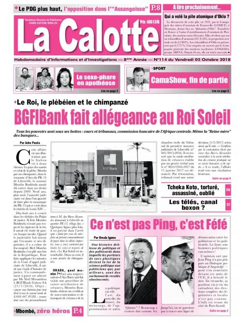 La Calotte 05/10/2018