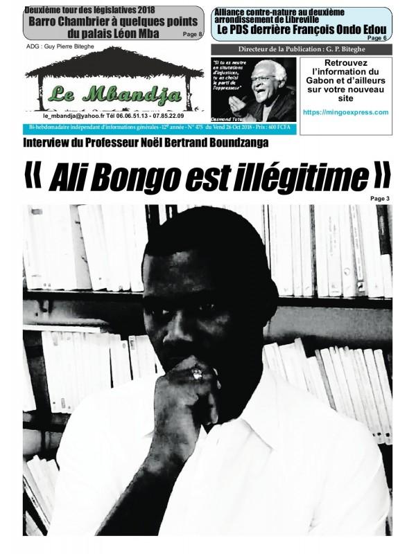 Le Mbandja 26/10/2018