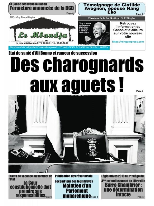 Le Mbandja 02/11/2018