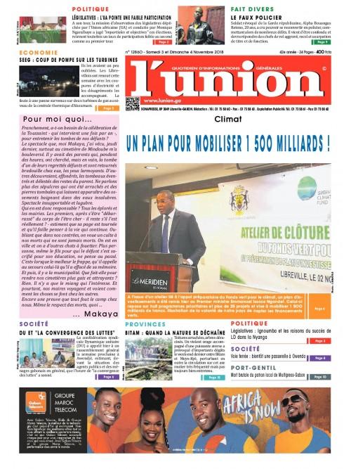 L'Union 03/11/2018