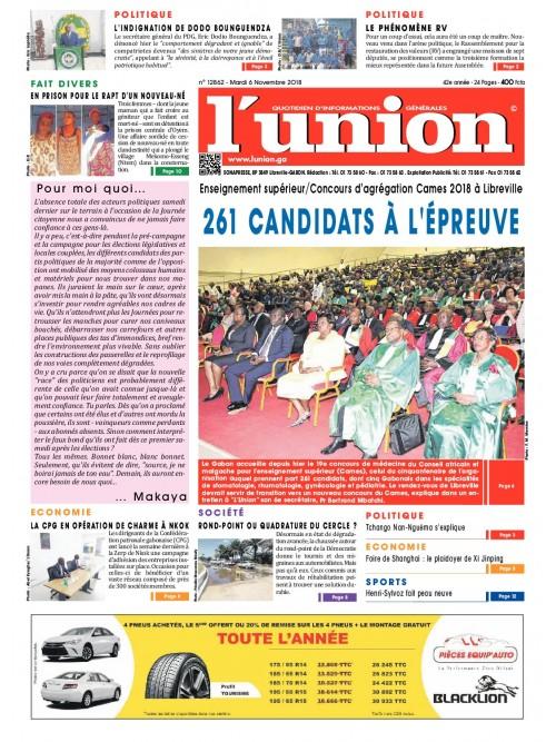 L'Union 06/11/2018