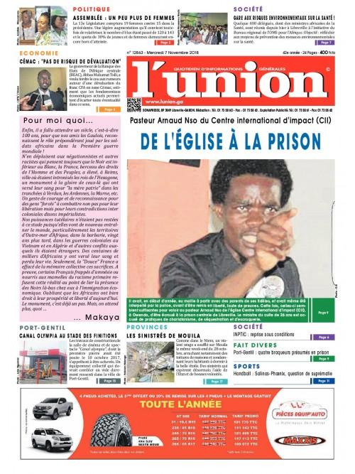 L'Union 07/11/2018