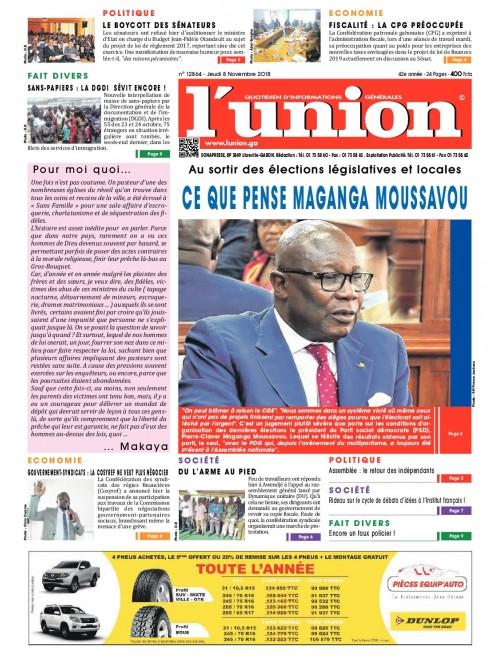 L'Union 08/11/2018