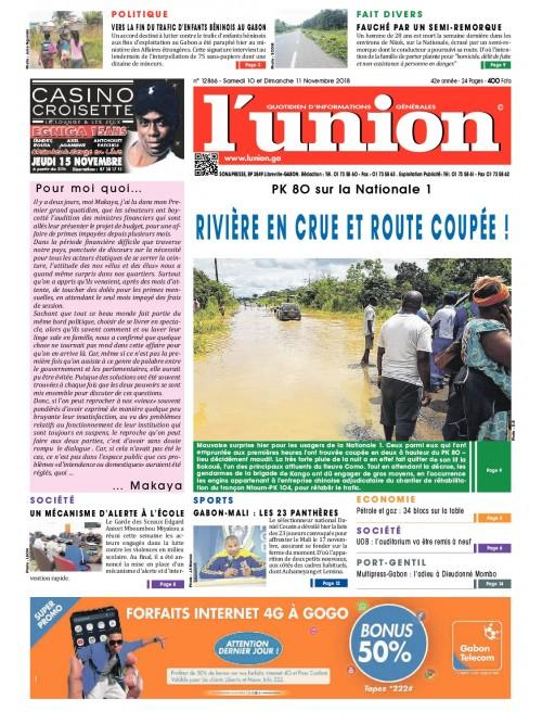 L'Union 10/11/2018
