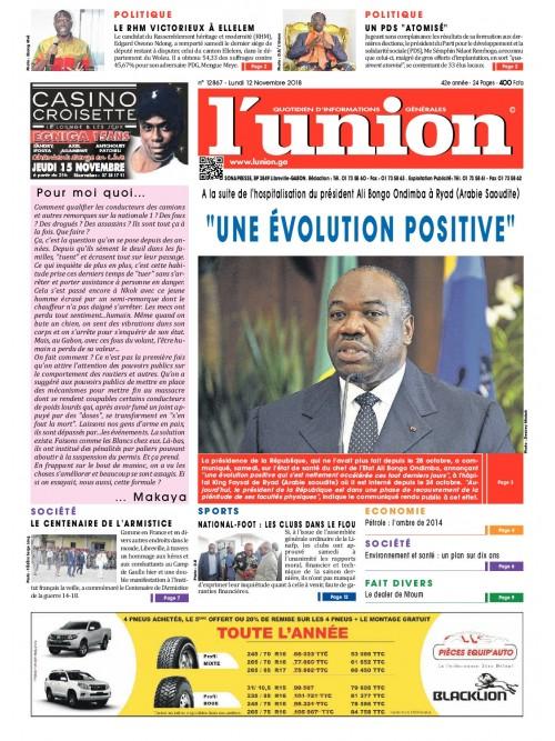L'Union 12/11/2018