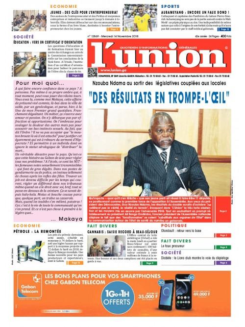 L'Union 14/11/2018