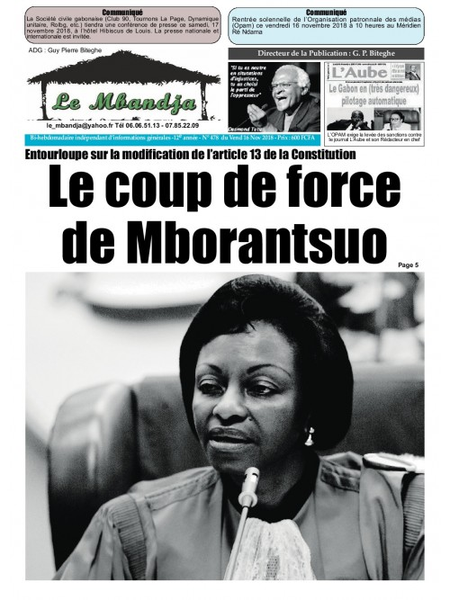 Le Mbandja 16/11/2018