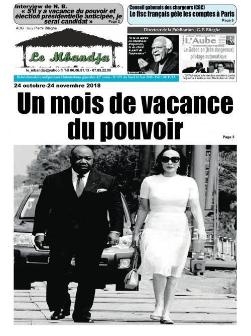 Le Mbandja 23/11/2018