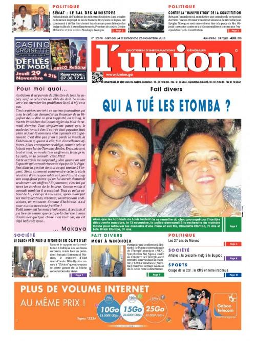 L'Union 24/11/2018