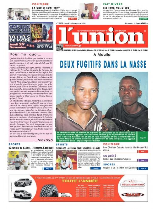 L'Union 26/11/2018