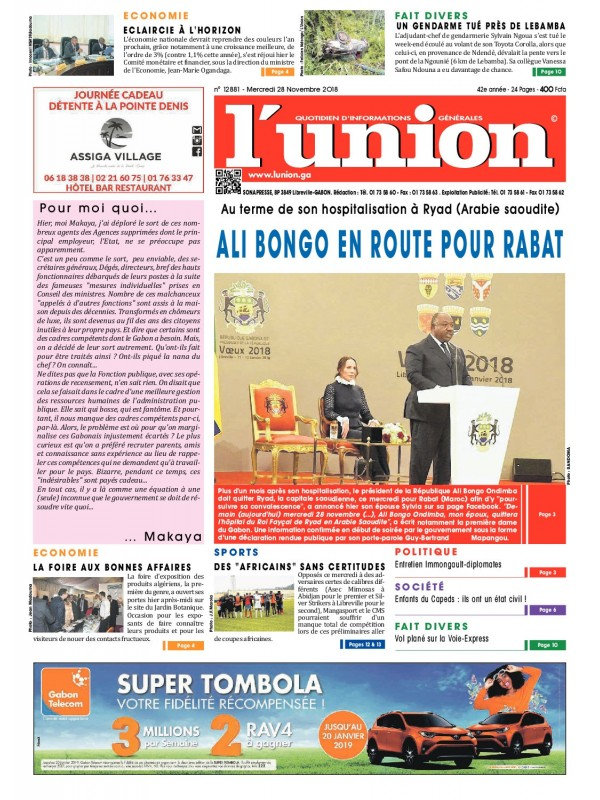 L'Union 28/11/2018