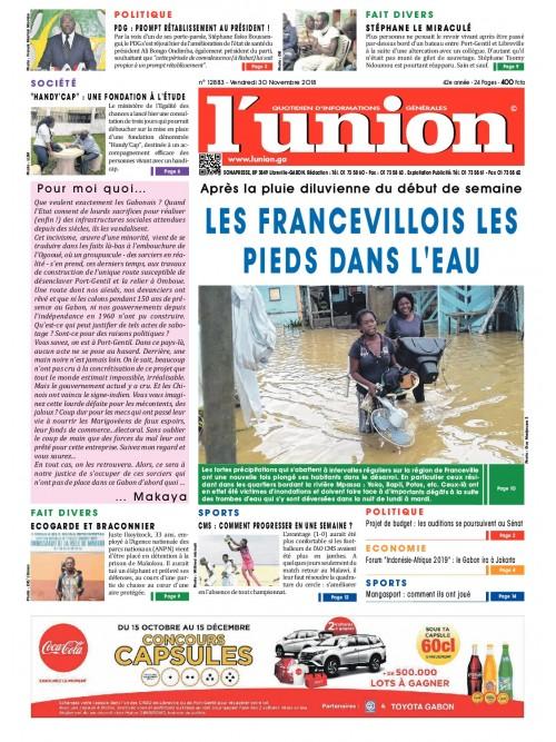 L'Union 30/11/2018