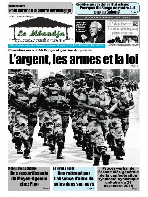 Le Mbandja 30/11/2018