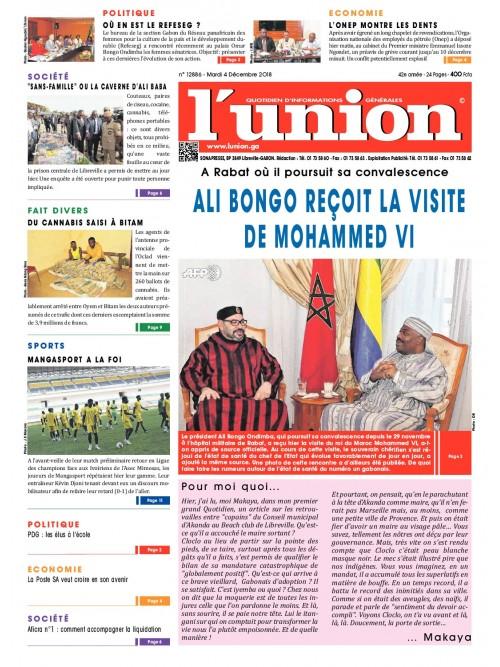 L'Union 04/12/2018