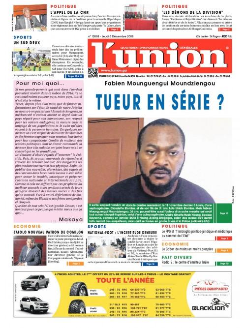 L'Union 06/12/2018
