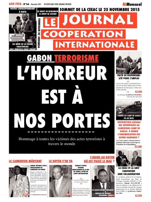 Coopération international  20/11/2015