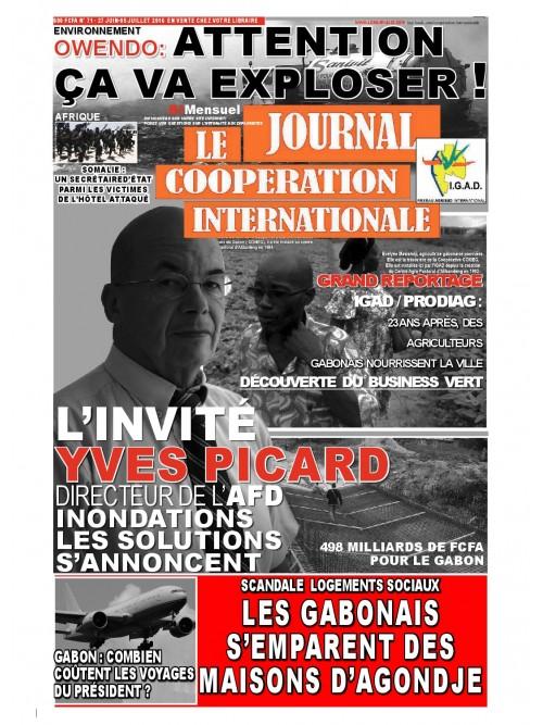 Coopération international  27/06/2016