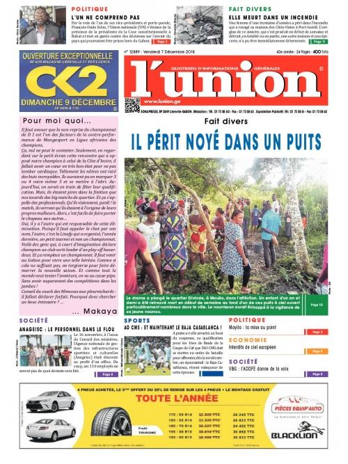 L'Union 07/12/2018