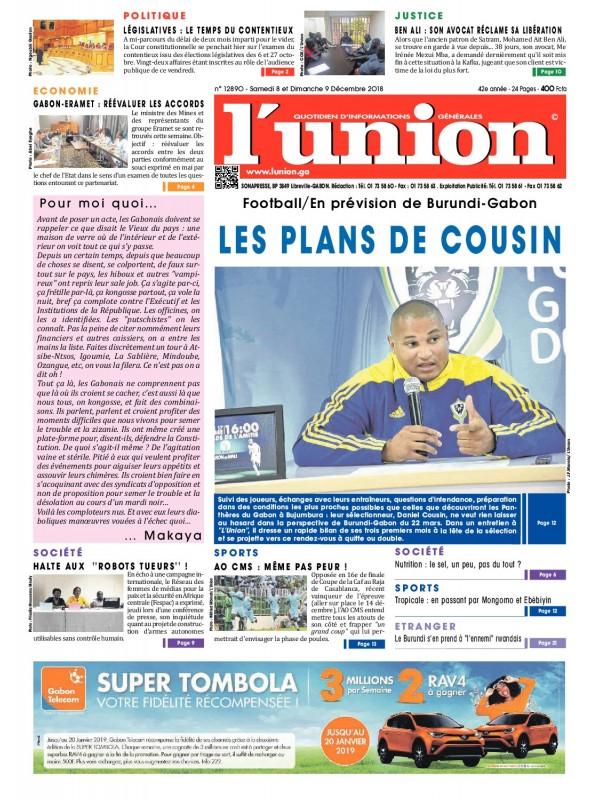 L'Union 08/12/2018