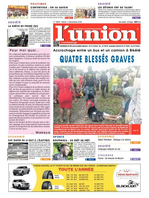 L'Union 11/12/2018