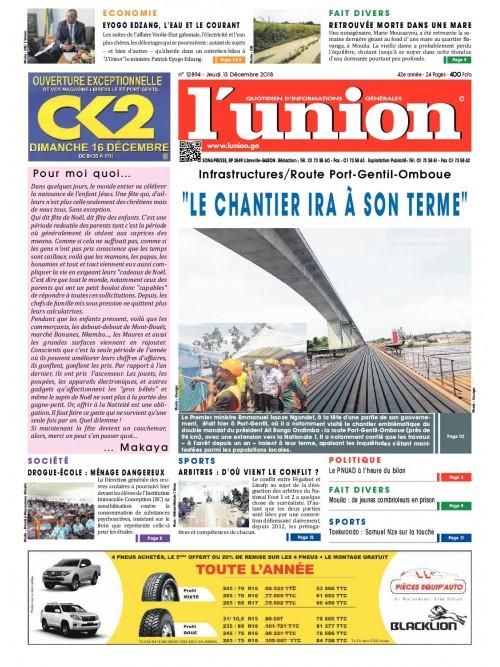 L'Union 13/12/2018