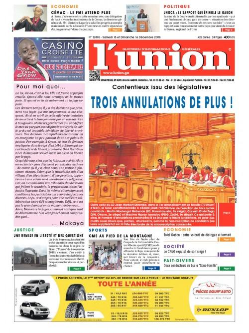 L'Union 15/12/2018