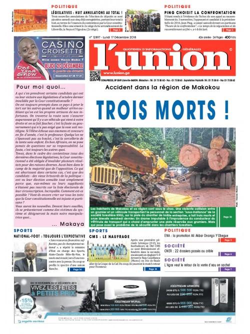 L'Union 17/12/2018