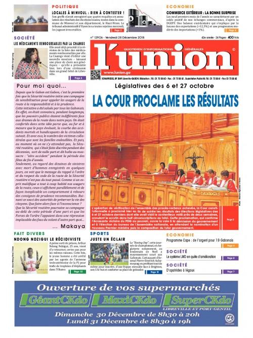L'Union 28/12/2018