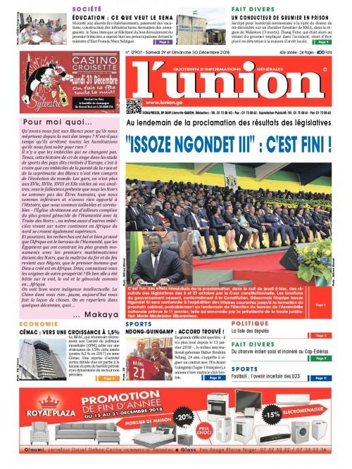 L'Union 29/12/2018