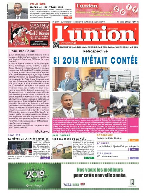 L'Union 31/12/2018