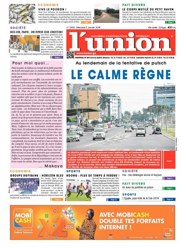 L'Union 09/01/2019