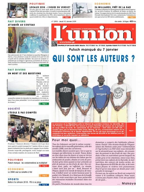 L'Union 10/01/2019
