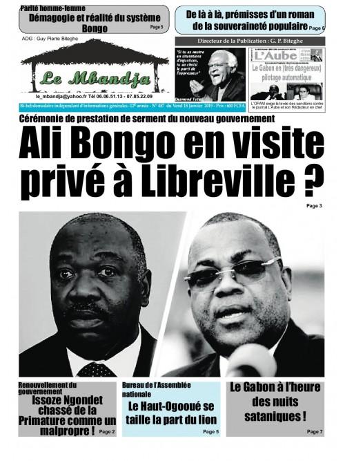 Le Mbandja 18/01/2019