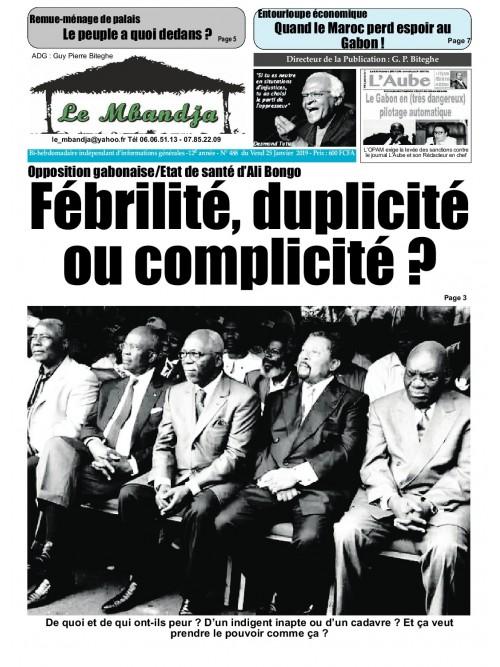 Le Mbandja 25/01/2019