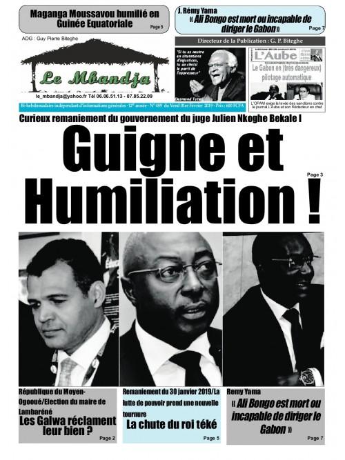 Le Mbandja 01/02/2019