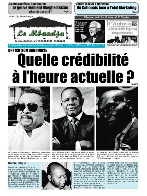 Le Mbandja 08/02/2019