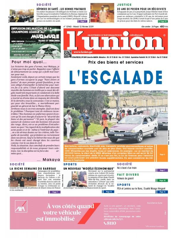 L'Union 12/02/2019