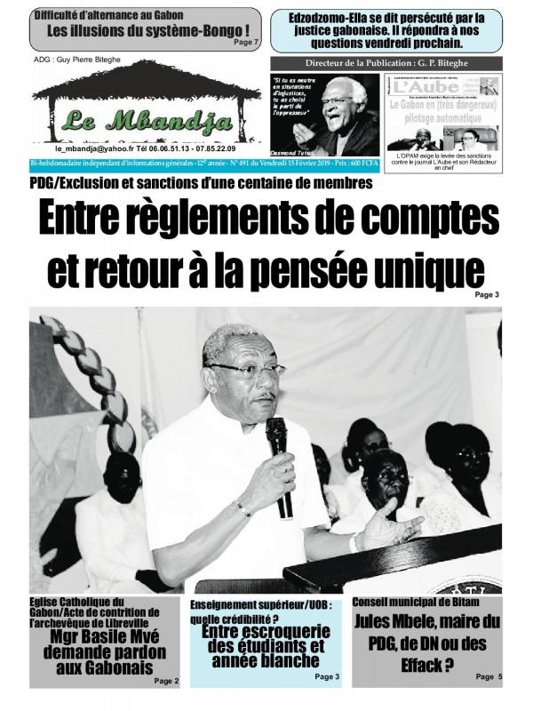 Le Mbandja 15/02/2019