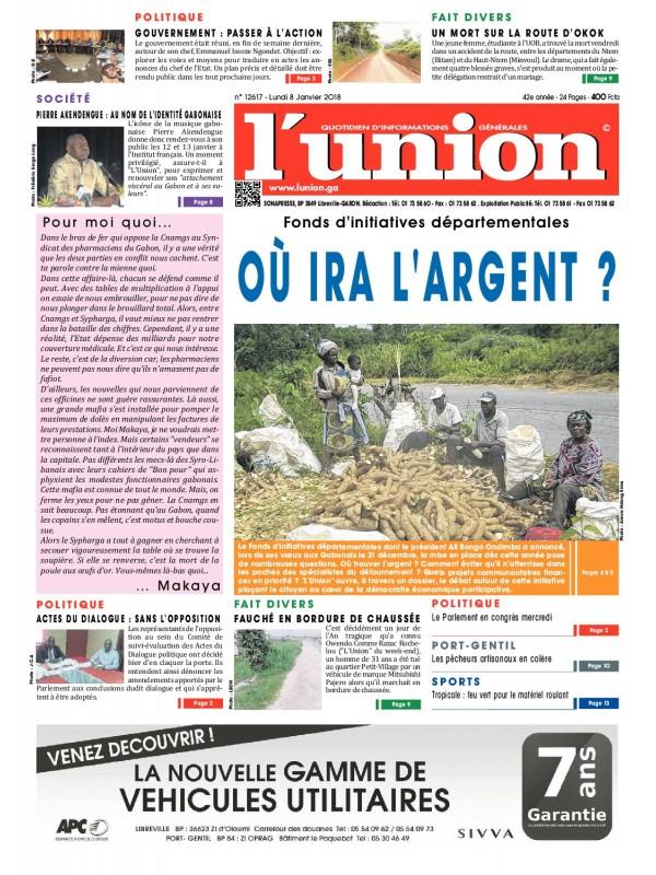 L'Union 08/01/2018