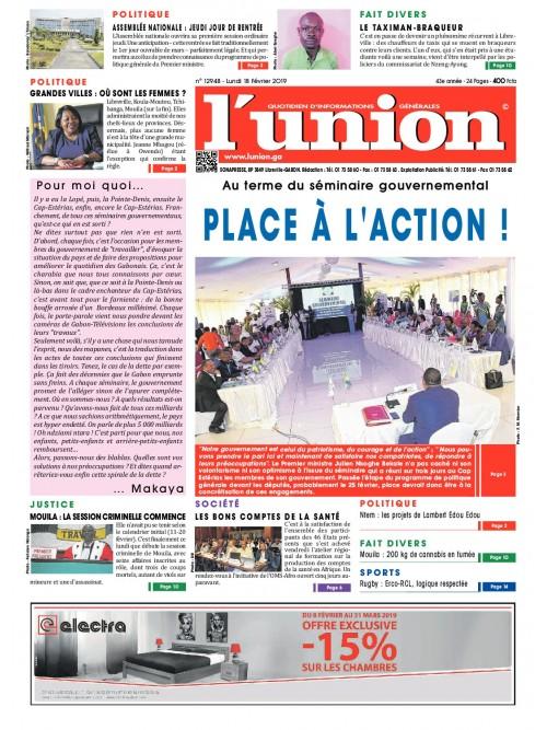 L'Union 18/02/2019