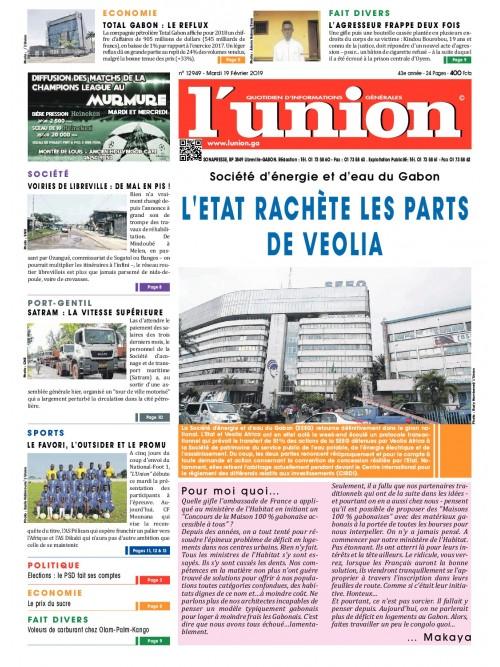 L'Union 19/02/2019