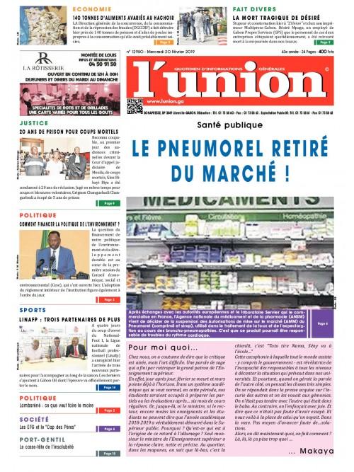 L'Union 20/02/2019